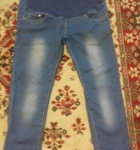 Весенне-летние джинсы для беременных лёгкие