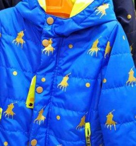 Весна курточки мальчики