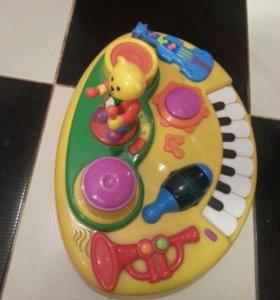развивающия музыкальная игрушка