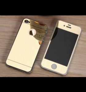 Защитное стекло/панель на iPhone 4/4s