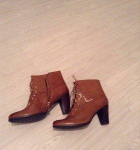 Ботинки осенние новые! Натуральная кожа