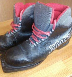 Лыжные ботинки,39 размер