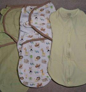 Пелёнки кокон Mothercare Summer newborn