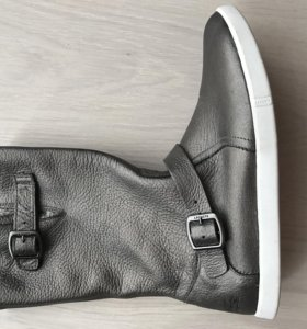 Сапоги кожаные Lacoste