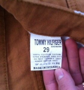 Коричневые турецкие джинсы