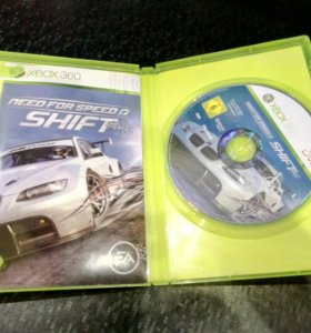 "Диск для Xbox 360 ""Need for speed shift"""