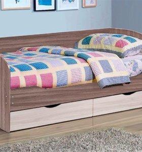 Кровать с ящиками Софа 5