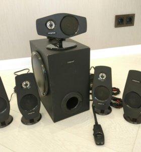 Акустическая система 5.1 Creative Inspire T6060