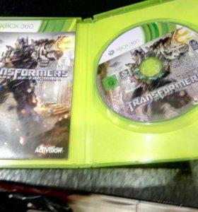 "Диск для Xbox 360 ""Transformers dark of the moon"""