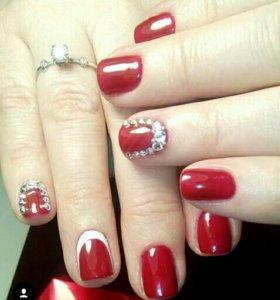 Норащивание ногтей