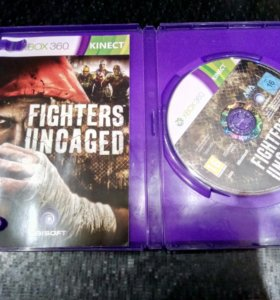 "Диск Xbox 360 KINECT ""Fighters uncaged"""