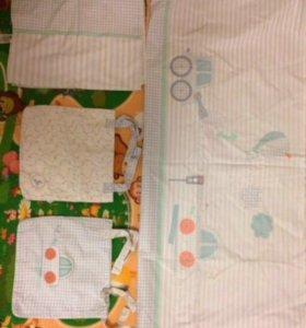 Комплект в детскую кроватку Mothercare