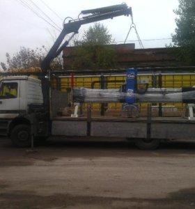Манипулятор кран 5 тонн 10 метров борт 6400*2450
