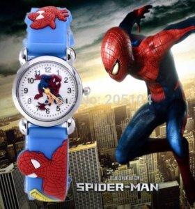 """Детские часы """"Человек паук"""""""
