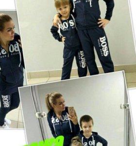 Костюмы дочка+мама