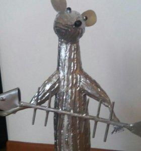 Кованая крыса
