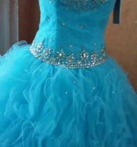свадебное платье(можно выпускное)