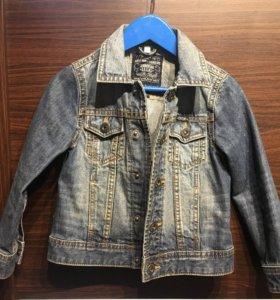 Детская джинсовая куртка р.104