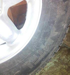 Зимний комплект колес на ниву