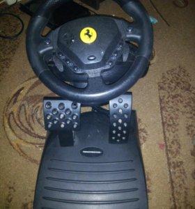 руль Enzo Ferrari FFB!Обмен на акустику 2.1