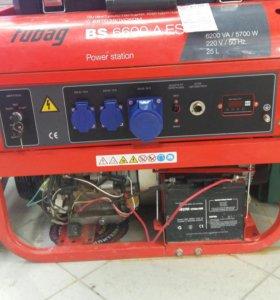 Генератор бенз.Fubag BS 6600