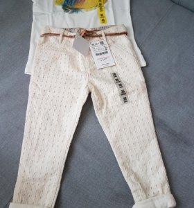 Новые брюки ZARA BABY