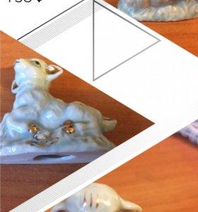 Фигурка барашка декоративная