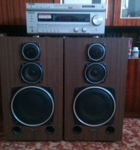 Ресивер Kenwood+DVD+АКУСТИКА