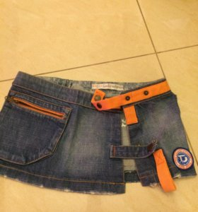 Юбка на джинсы