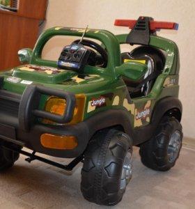 Новый детский электромобиль