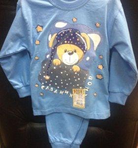 Пижама для мальчика рост 98-104, 4-5лет (новая)