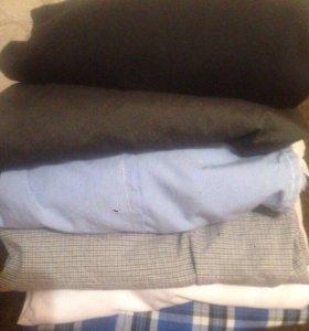 Мужские рубашки в хорошем состоянии