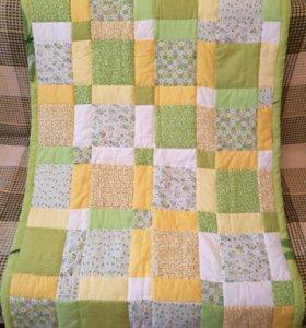 Одеяло - покрывало в детскую кровать