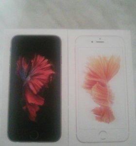 Коробки от iphone 6s