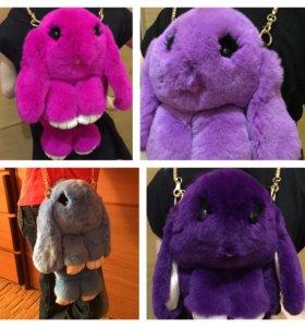 Кролик сумка - рюкзачок