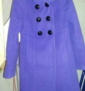 Б/у демисезонное пальто