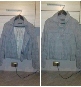 Платье и короткое пальто