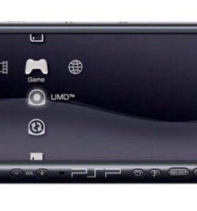 Портативная игровая консоль Sony PSP-3008 (черная)
