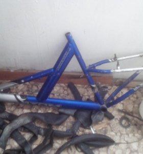 Рама велосипеда атом форестэр