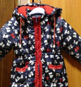 Куртка на рост 104-110