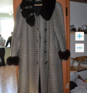 Зимнее пальто р 50-52