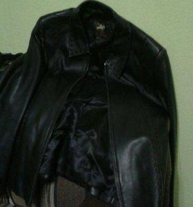 Натуральная кожа женская куртка весна