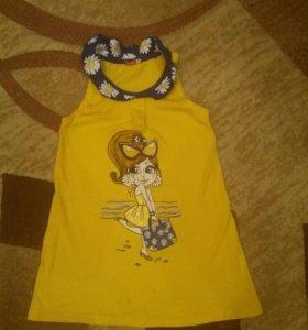 Платье Крокид