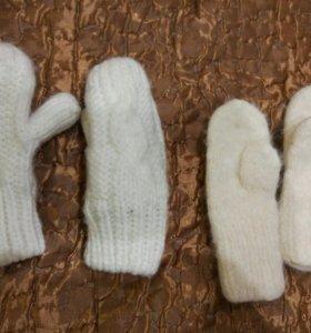 2пары рукавичек до 1,5 лет