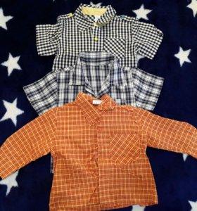 Рубашки от 74 до 92