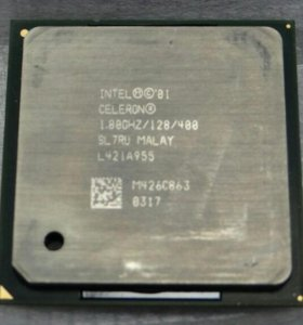 Процессор Intel Celeron 1.8GHz, Socket mPGA478B