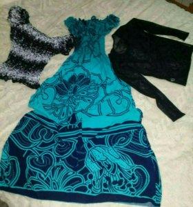Платье ковта и 2майки