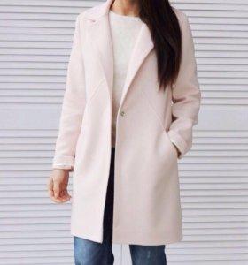 Кашемировое новое пальто М