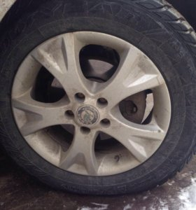 комплект литых дисков Skoda/Audi/Volkswagen