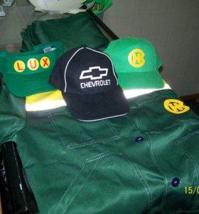 Наносим (печатаем) логотипы на одежду